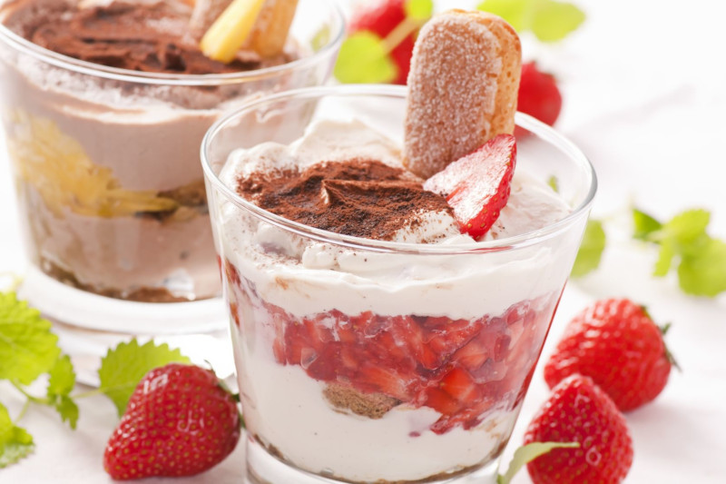 Tiramisu fruits rouges