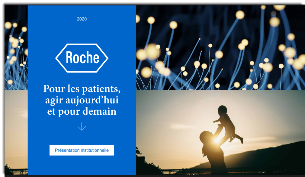 Présentation institutionnelle Roche Pharma France 2020